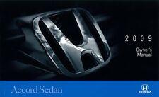 2009 Honda Accord Sedan Owners Manual User Guide Reference Operator Book Fuses
