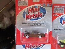IMPALA 1978 CHEVROLET CAR 1/87 HO OPENING HOOD-1978-CMW BROWN mimi metals