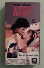 tim daly  DANGEROUS HEART  lauren holly   VHS VIDEOTAPE