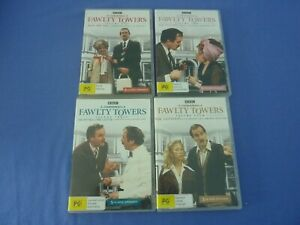 Fawlty Towers DVD Complete Series Volume 1-4 R4 Free Tracked