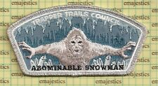 Bsa Csp Trapper Trails Council Silver Abominable Snowman 2017 Uniform Donation