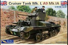 Gecko Models 1/35.Cruiser Tank Mk. I, A9 Mk.1 Model Kit