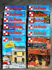 Les 12 Numéros revue Le TRAIN Année 2004 Complète