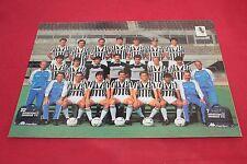 Foto Gigantografia HURRA JUVENTUS FORMAZIONE 1985-86 CON AUTOGRAFI