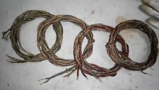 #18AWG Western Electric Waxed Tinned Copper Cloth wire 8.4 M (#607 )