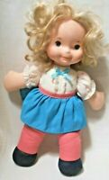 """Vntg.1984 FISHER- PRICE """"MARY MY LITTLE SISTER"""" Soft Huggable Washable DOLL"""