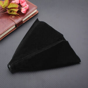 Universal Car Shift Boot Cover Gaiter Gear Manual Shifter Suede Leather  ·~ +