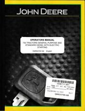 John Deere 730 Diesel with Electric Start Operator's Manual