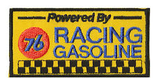 Ecusson toppa 76 UNION racing benzina fusibile toppa ricamata
