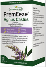 Natures Aid PremEeze Agnus Castus 60 Capsules - PREMENSTRUAL SYMPTOMS