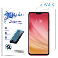 2-Pack For Xiaomi Mi 8 Lite Tempered Glass Screen Protector