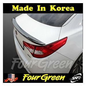 Rear Trunk Wing Lip Spoiler Painted for Kia Optima 2011 - 2013 K5 ;Silver ⭐⭐⭐⭐⭐