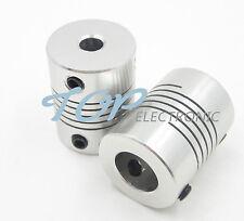 2PCS 5mmx8mm CNC Motor 3D PrinterJaw Shaft Coupler 5mm-8mm Flexible Coupling 5x8