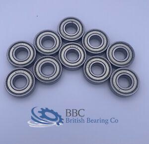 Pack of 10 6001 2Z ZZ 60012Z ZZ Metal Shielded BBC Bearing 12x28x8mm