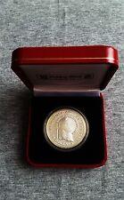 1980 Dollari d'argento Belize 25, RARA 2547pcs 10th anniversario banca dei Caraibi