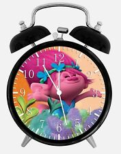 """Trolls Alarm Desk Clock 3.75"""" Home or Office Decor E395 Nice For Gift"""