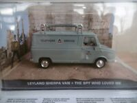 "Leyland Sherpa 240 Deluxe ""The Spy Who Loved Me  IXO 1/43 scale Model Car FAULTS"