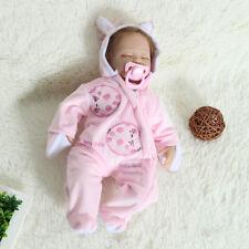 Silicone Reborn Baby Poupée Bébé Réaliste Nouveau-né Fille Doll Jouet Enfant