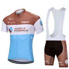 Ropa ciclismo verano AG2R equipement maillot culot cycling jersey maglie short