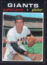 1971 Topps #140 Gaylord Perry (vg-ex)
