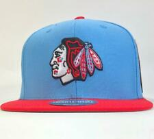 Chicago Blackhawks Blue/Red Snapback Hat American Needle Licensed New