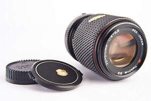 Tokina SD 70-210mm f/4~5.6 Zoom Telephoto Lens with Caps for Minolta MD V14