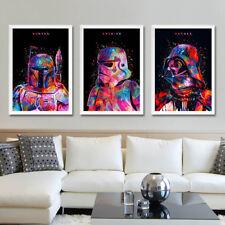 Star Wars Movie Canvas Poster Art Print Darth Vader Stormtrooper Master Poster