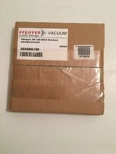 New PFEIFFER Vacuum View Port DN-100 ISO-K - Stainless Steel D-37081 (322GSG100)