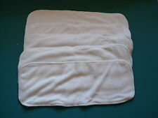 New Lot Five 4layer Bamboo Cotton Inserts Cloth Diapers/Nappy EB52519