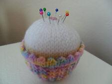 Knitting Pattern-Quick & Easy Cupcake Puntaspilli Ideale Regalo Cibo a Maglia