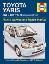 Toyota Yaris Repair Manual Haynes Manual Workshop Service Manual  1999-2005 4265