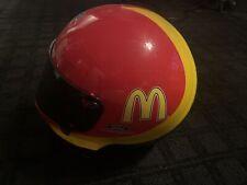 Nascar Bill Elliott McDonald's Racing Helmet Memorabilia Decoration Collectible