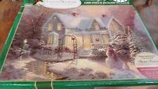 Blessings of Christmas 1000 Piece puzzle Thomas Kinkade NEW Ceaco 2007