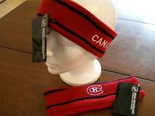 MONTREAL CANADIENS LICENSED RED NHL HEAD BAND NEW W/ TAGS