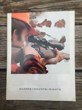 Redfield-70-Scopes-Mounts-amp-Sighs-Catalog -27-pages