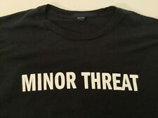MINOR THREAT We're Just A TAKE YOUR TIME Hardcore Punk Rock Band T Shirt 2XL XXL