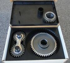 PONTIAC 265-455 ALL V8 STEEL DUAL IDLE GEARS TIMING GEAR DRIVE SET  ~ NOISY ~