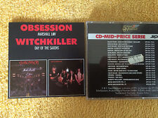 Marshall Law, Obsession/Day of the Saxon, witchkiller (SPV, 1984) Limousine erstaufl, rar!!!