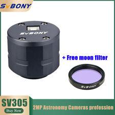 "Sv305 1.25"" Astronomy Camera 2Mp Usb2.0 Planetary Camera for Astrophotography"
