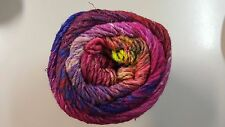 Noro Taiyo Colour #95 - 100g Pink Purple Green Yellow Wool Silk Cotton