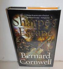 BOOK Historical Fiction Sharpe's Escape by Bernard Cornwell op 1st Ed HB-dj