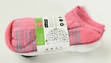 No Nonsense Super Soft No Show Socks, Assorted made in USA 6 pairs! Size 4-10