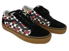 Vans Old Skool Cherry Checker 7.5 Men's/9 WMNS Black/Gum Classic Skate Shoes NEW