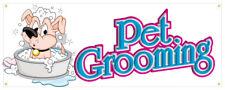 Pet Supplies Banner Soap Shampoo Toys Food Dog Cat Bird Retail Store Sign 36x96