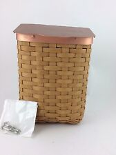 Longaberger 2006 Collectors Club Mailbox Basket w Hardware