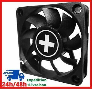 Ventilateur pour PC pour Boitier 40 mm 3 Pin Broches Noir 4500 RPM Silencieux