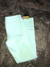 Mossimo Teal Skinny Jeans New Womens Sz 4 Fit 3