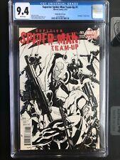 Superior Spider-Man Team-Up CGC 9.4 Sketch Cover Deadpool Marvel Variant