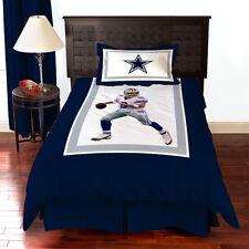 NFL Dallas Cowboys team Tony Romo Bedding Comforter SET Christmas Gift Queen/ful