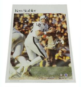 """1978 Sports Illustrated Poster Ken Stabler Measures 24"""" X 36"""""""